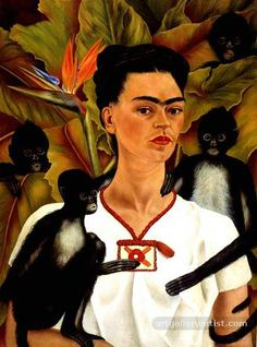 Image detail for -Frida Kahlo Paintings