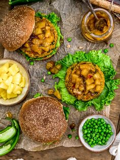 This healthy Vegan Curry Burger is brimming with earthy spices and topped with a sweet and tangy Pineapple Chutney that makes for an incredible combination! #vegan #oilfree #glutenfree #plantbased | monkeyandmekitchenadventures.com Whole Food Recipes, Vegan Recipes, Cleaners Homemade, Diy Cleaners, Vegan Curry, Healthy Oils, Chutney, Vegan Gluten Free, Amigurumi