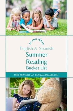 Bilingual Summer Reading Bucket List - Bilingual Balance