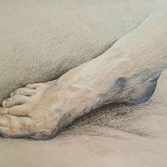 Com Thanks to Doug for patient hand and foot modeling. Figure Drawing, My Drawings, Modeling, Sketch, Photo And Video, Black And White, Instagram, Sketch Drawing, Modeling Photography