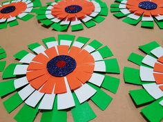 30 trendy flowers art projects for kids schools craft ideas Independence Day Activities, Independence Day Decoration, Indian Independence Day, Happy Independence Day, Projects For Kids, Art Projects, Crafts For Kids, Arts And Crafts, Paper Crafts