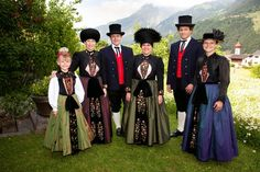 FolkCostume&Embroidery: Overview of the Folk Costumes of Europe, Montafon, Vorarlberg, Austria