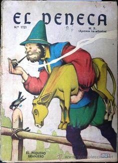 el peneca # 1721 - el pequeño granjero - 1941 - - Comprar Tebeos y ...