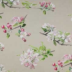 Manuel Canovas La Pommeraie Rose Colefax and Fowler curtain fabric in Crafts, Sewing & Fabric, Fabric | eBay