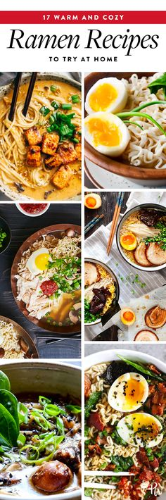 17 Warm and Cozy Ramen Recipes to Try at Home https://www.purewow.com/food/ramen-soup-recipes
