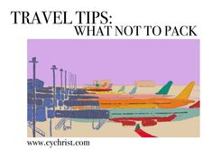 Travel Tips: What Not To Pack – Eve Yasmin Christ Carry On Size, The Way Back, Blank Book, Packing Light, Future Travel, Losing Me, Adventure Travel, Eve, Travel Tips