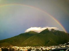 Monterrey, N.L México. El cerro de la silla