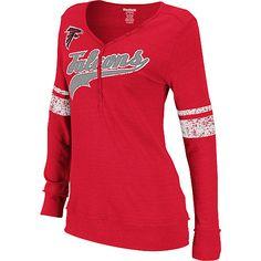 Preschool Atlanta Falcons Red Reflection T-Shirt