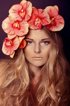 flowers in her hair | ban.do