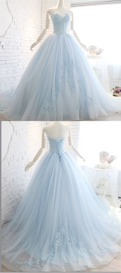 Cute sweetheart prom dress