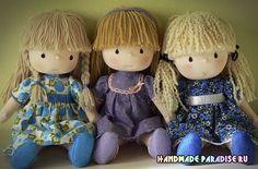 Куклы Kyoko Yoneyama. Японский журнал. Как сшить японскую куклу Kyoko Yoneyama. Японский журнал с инструкциями пошива кукол и одежды для кукол