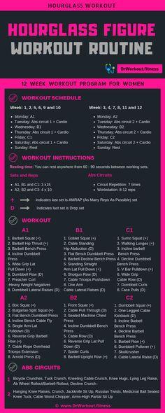 Hourglass Workout Plan