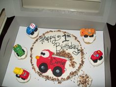 Tonka Truck cake! that one was fun to make!