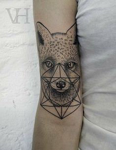 Fox Tattoos   Inked Magazine