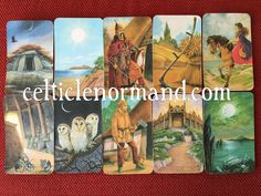 The Celtic Lenormand Oracle: Different Perspectives, Different Selves 2. Reading for a man about his work and home life.