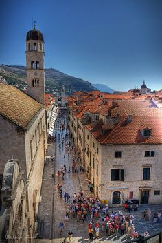 Dubrovnik, Croatia. I loved this country it's so beautiful.