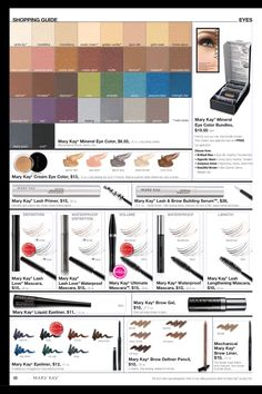 Mary Kay Eyes! Check out my website 24/7 at www.marykay.com/kshafer24