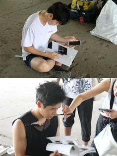150713 MelOn Music Story - #인피니트 Hoya & Sungjong #Bad