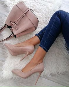 Boots are really stylish and there is wide option from flat-heels to stilettos, wedges, and platforms, boots are everything in between. High Heel Pumps, Pumps Heels, Stiletto Heels, Nude Pumps, Cute Heels, Lace Up Heels, Sexy Heels, Beautiful Shoes, Beautiful Pictures