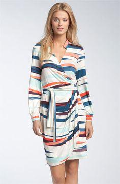 Maggie London jersey wrap dress, via Nordstrom. $158.00