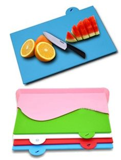 Set of 4 Colourful Magical Kitchen Chopping Board for AED 59 Only. Hurry Up!!