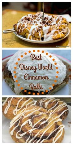 Where to find the BEST Cinnamon Rolls in Walt Disney World