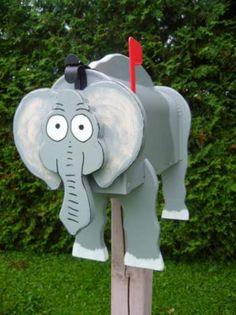 Elephant Mail Box