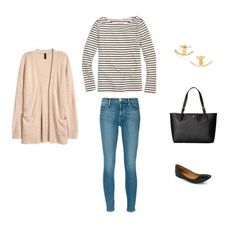 Create a Stay At Home Mom Capsule Wardrobe: 10 Spring Outfits - Classy Yet Trendy