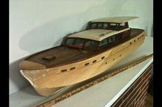 Chris Craft model boat