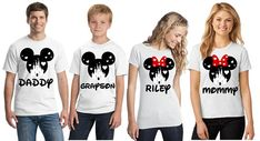 A personal touch means so much! Add a name and create your own Disney item by choosing the character and color. The perfect Disney shirts for your next family vacation or just to show your inner Disney love. People will smile, point and ask where you got these awesome shirts.