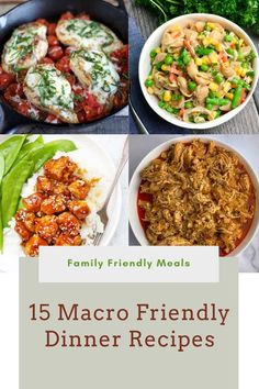Macro friendly meals that the whole family will love! Check out these easy macro dinners that make great leftovers! #macrodiet #macrorecipes #macrodinners Easy Meal Prep, Easy Meals, Clean Eating Recipes, Healthy Eating, Macro Meal Plan, Cheap Meal Plans, Macro Friendly Recipes, Counting Macros, Macros Diet