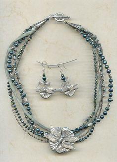 Dragonfly-necklace @antelopebeads.com #dorabethdesigns #beading #jewelry