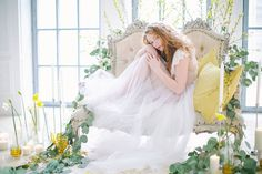 Spring bridal boudoir | Elena Pavlova Photography | see more on: http://burnettsboards.com/2015/04/spring-boudoir-shoot/