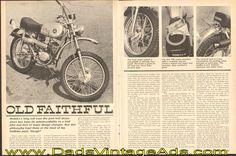 "1971 Hodaka 100 B+ Motorcycle Road Test – ""Old Faithful"""