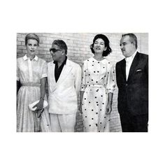 #Summer Grace Kelly Aristote Onassis Maria Callas and Rainier de Monaco 1961 in Spain.