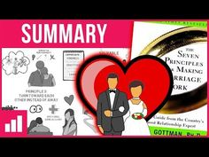 The 7 Principles For Making Marriage Work by John Gottman - Relationship Advice ► Book Summary - YouTube