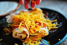 The Pioneer Woman's Beef and Bean Burritos