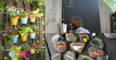 Kids Garden Ideas. Ideas for a family friendly garden that are simple enough to do yourself.