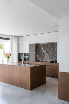 Kitchen Room Design, Best Kitchen Designs, Modern Kitchen Design, Living Room Kitchen, Interior Design Kitchen, Kitchen Decor, Minimalist Kitchen, Home Deco, Home Kitchens