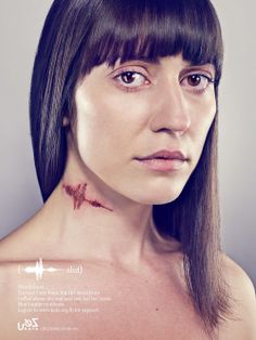 From the KAFKA Campaign. You may not see the scars verbal abuse can leave, but they are real and can last for years.