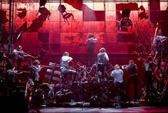 Walt Spangler - Broadway set designer and my brother-in-law. This is his beautiful and amazing set for Les Miserables.