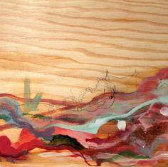 Jessica Esther Hoflick 'Red Landscape' Oil and pencil on plywood Rise Art, Buy Art Online, Online Art Gallery, Plywood, Art Day, Pencil, Oil, Landscape, Artwork
