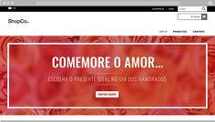 Banners para o Dia dos Namorados  - A data mais apaixonada do ano, ideal para demonstrar o amor com um bom presente. Use estes banners para os visitantes da sua loja também se apaixonarem por seus produtos!