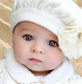 Beautiful Baby White Hat by Digirrl