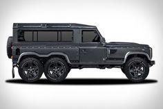 Land Rover Defender 6x6 Concept
