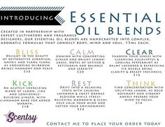 Our Essential Oil Blends are AMAZING