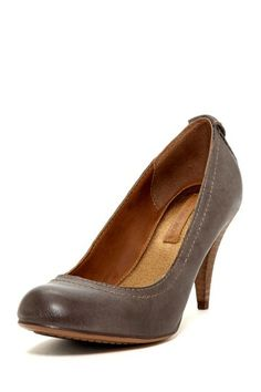 Calvin Klein Tressa Burnished Leather Pump by Non Specific on @HauteLook