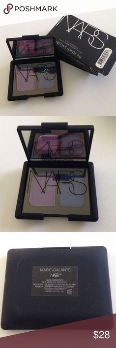 Brand New Authentic NARS Eyeshadow Marie-Galante 🛍Holiday Sale🛍 Brand New Authentic NARS Eyeshadow Duo Marie-Galante in original packaging. Never swatched. No trades. NARS Makeup Eyeshadow