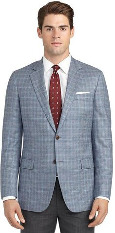 Fitzgerald Fit Soft Check Sport Coat