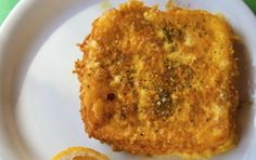 Saganaki (cheese in pan) - iCookGreek